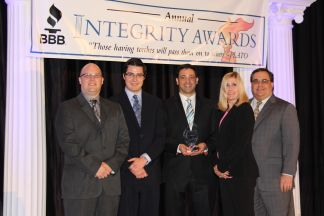 Vision2Voice Recieves the 2014 BBB Integrity Award