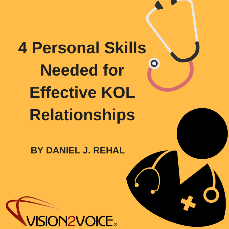 4 Personal Skills Needed for Effective KOL Relationships