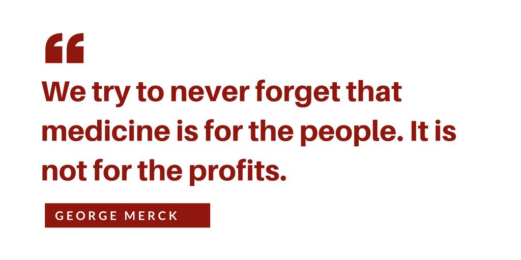 George Merck Quote